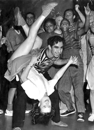 archival 1930s dancers