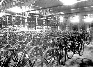 Vintage Bike Room