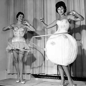 vintage hula hoopers